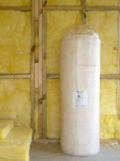 Glass wool wall insulation